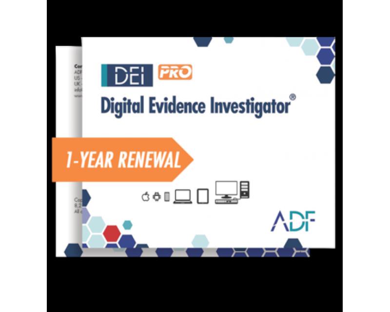 ADF Digital Evidence Investigator® PRO 1 Year Renewal