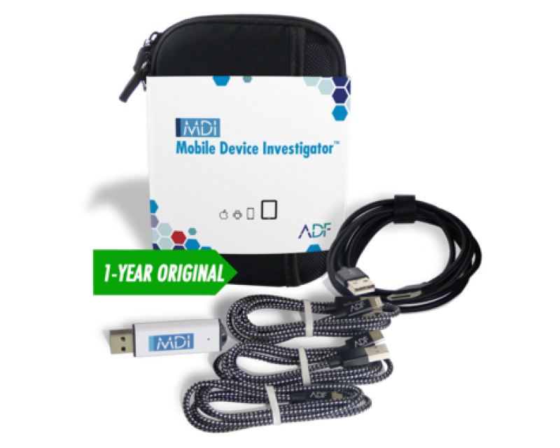 ADF Mobile Device Investigator™ Forensic Kit with 1 Year Subscription Maintenance and Support