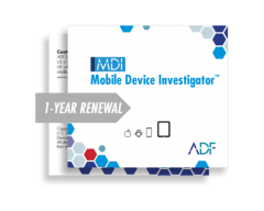 ADF Mobile Device Investigator™ 1 Year Renewal