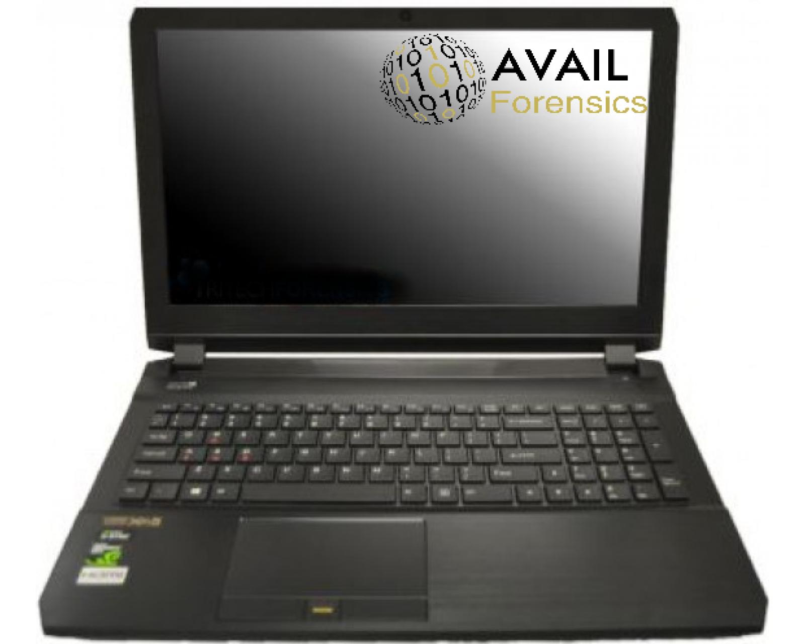 DAVE DCFL2-15 Cellphone Digital Forensics Laptop Workstation