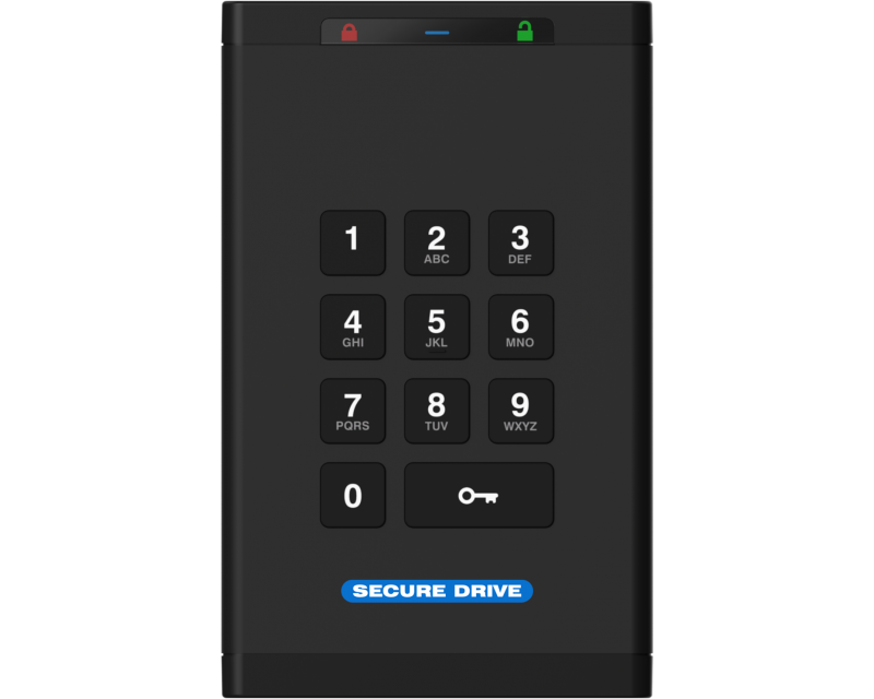 SECUREDATA SecureDrive Keypad SSD - Please click for pricing when you choose size